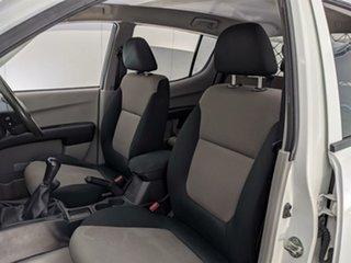 2013 Mitsubishi Triton MN MY14 GLX Club Cab White 5 Speed Manual Utility