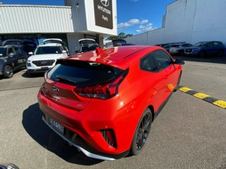 2019 Hyundai Veloster JS MY20 Turbo Coupe D-CT Tangerine Comet 7 Speed Sports Automatic Dual Clutch.