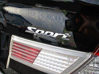 2012 Honda Civic Sport Black 4 Speed Automatic Sedan