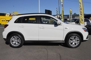 2019 Mitsubishi ASX XC MY19 ES 2WD ADAS White Solid 1 Speed Constant Variable Wagon