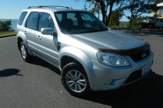 2010 Ford Escape ZD MY10 Silver 4 Speed Automatic SUV.