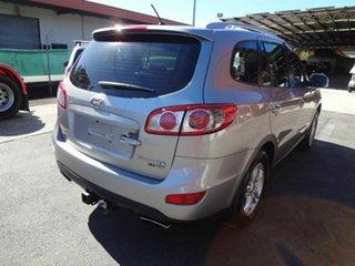 2011 Hyundai Santa Fe CM MY10 Elite CRDi (4x4) Silver 6 Speed Automatic Wagon.