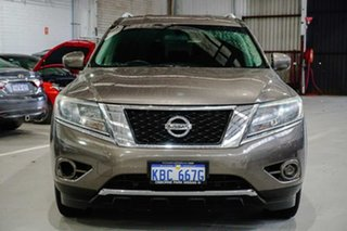 2014 Nissan Pathfinder R52 MY14 ST X-tronic 2WD Grey 1 Speed Constant Variable Wagon