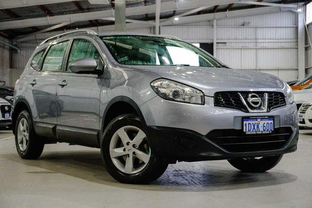 Used Nissan Dualis J107 Series 3 MY12 +2 Hatch X-tronic 2WD ST Osborne Park, 2012 Nissan Dualis J107 Series 3 MY12 +2 Hatch X-tronic 2WD ST Grey 6 Speed Constant Variable