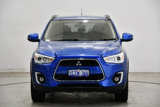 2016 Mitsubishi ASX XC MY17 LS 2WD Lightning Blue 6 Speed Constant Variable Wagon.
