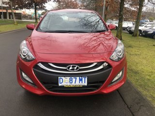 2013 Hyundai i30 GD Active Red 6 Speed Manual Hatchback