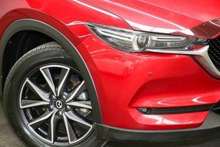 2017 Mazda CX-5 KF4WLA Akera SKYACTIV-Drive i-ACTIV AWD Red 6 Speed Sports Automatic Wagon.
