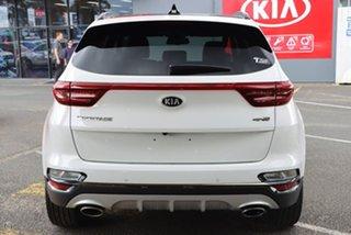 2021 Kia Sportage QL MY21 GT-Line AWD White 8 Speed Sports Automatic Wagon.