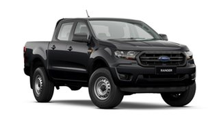 2021 Ford Ranger PX MkIII 2021.75MY XL Shadow Black 6 Speed Sports Automatic Double Cab Pick Up