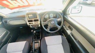 2010 Nissan Navara D22 MY2009 ST-R Silver 5 Speed Manual Utility
