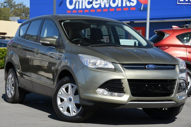 Used Ford Kuga TF Ambiente AWD Aspley, 2014 Ford Kuga TF Ambiente AWD Green 6 Speed Sports Automatic Wagon
