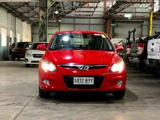 2010 Hyundai i30 FD MY10 SX Red 5 Speed Manual Hatchback.