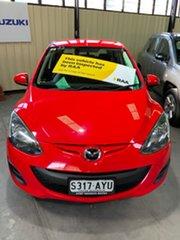 2013 Mazda 2 DE10Y2 MY14 Neo Sport Red 4 Speed Automatic Hatchback.