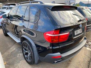 2009 BMW X5 E70 MY09 xDrive48i Steptronic Black 6 Speed Sports Automatic Wagon.
