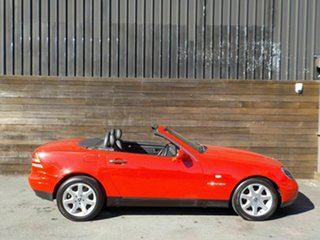 1998 Mercedes-Benz SLK-Class R170 SLK230 Kompressor Red 5 Speed Automatic Roadster.