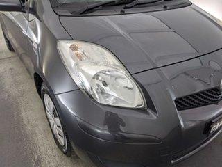 2010 Toyota Yaris NCP90R MY10 YR Grey 4 Speed Automatic Hatchback.