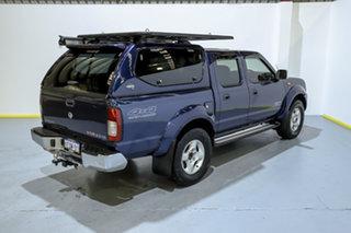 2014 Nissan Navara D22 S5 ST-R Blue 5 Speed Manual Utility