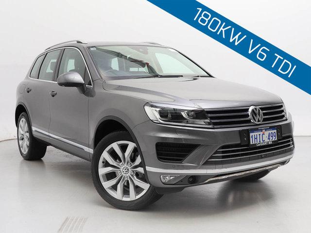 Used Volkswagen Touareg 7P MY15 V6 TDI, 2015 Volkswagen Touareg 7P MY15 V6 TDI Grey 8 Speed Automatic Wagon