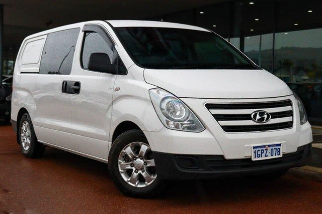 Used Hyundai iLOAD TQ3-V Series II MY17 Gosnells, 2017 Hyundai iLOAD TQ3-V Series II MY17 White 5 Speed Automatic Van