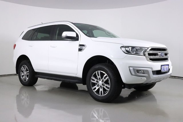 Used Ford Everest UA MY18 Trend (RWD) Bentley, 2018 Ford Everest UA MY18 Trend (RWD) White 6 Speed Automatic SUV