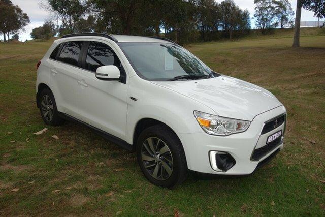 Used Mitsubishi ASX XB MY15 LS 2WD East Maitland, 2014 Mitsubishi ASX XB MY15 LS 2WD White 6 Speed Constant Variable Wagon