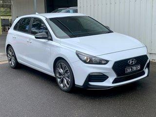 2019 Hyundai i30 PD.3 MY20 N Line White 6 Speed Manual Hatchback.