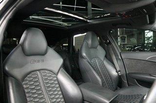 2016 Audi RS6 4G MY16 performance Avant Tiptronic Quattro Black 8 Speed Sports Automatic Wagon
