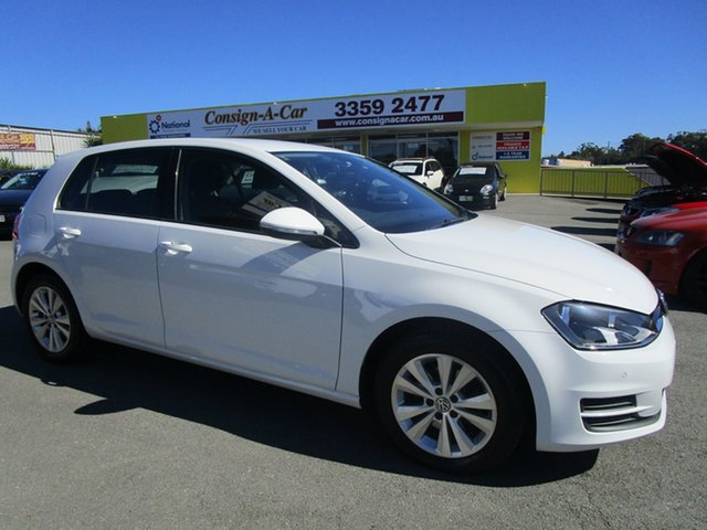 Used Volkswagen Golf VII MY16 92TSI DSG Comfortline Kedron, 2015 Volkswagen Golf VII MY16 92TSI DSG Comfortline White 7 Speed Sports Automatic Dual Clutch