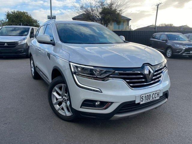 Used Renault Koleos HZG Zen X-tronic Hillcrest, 2018 Renault Koleos HZG Zen X-tronic White 1 Speed Constant Variable Wagon