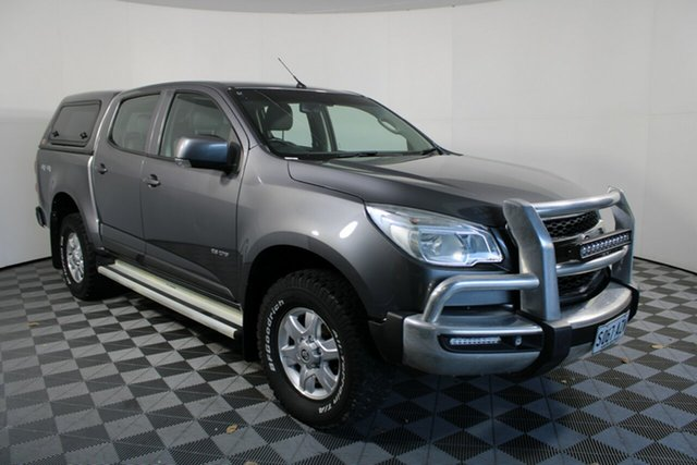Used Holden Colorado RG MY14 LT Crew Cab Wayville, 2013 Holden Colorado RG MY14 LT Crew Cab Grey 6 Speed Sports Automatic Utility
