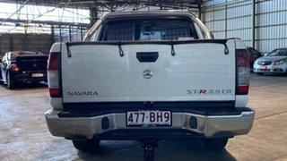 2011 Nissan Navara D22 S5 ST-R White 5 Speed Manual Utility