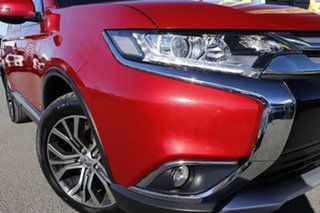 2016 Mitsubishi Outlander ZK MY16 LS 4WD Plum 6 Speed Constant Variable Wagon.