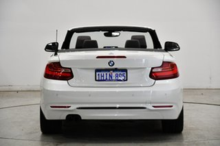 2016 BMW 2 Series F23 228i Sport Line White 8 Speed Sports Automatic Convertible