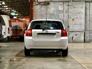 2006 Toyota Corolla ZZE122R 5Y Ascent White 5 Speed Manual Hatchback