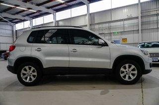 2014 Volkswagen Tiguan 5N MY14 132TSI DSG 4MOTION Pacific Silver 7 Speed.