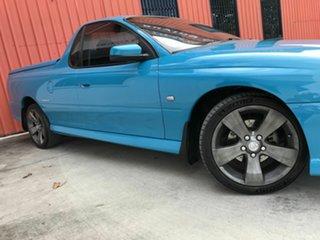 2006 Holden Ute VZ MY06 Thunder S Blue 4 Speed Automatic Utility