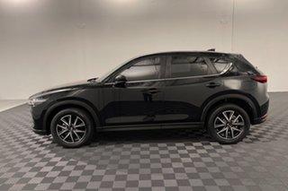 2017 Mazda CX-5 KF4W2A Touring SKYACTIV-Drive i-ACTIV AWD Jet Black 6 speed Automatic Wagon