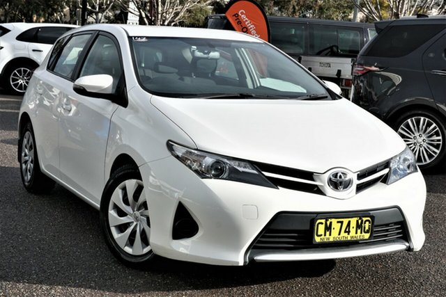 Used Toyota Corolla ZRE182R Ascent S-CVT Phillip, 2014 Toyota Corolla ZRE182R Ascent S-CVT White 7 Speed Constant Variable Hatchback