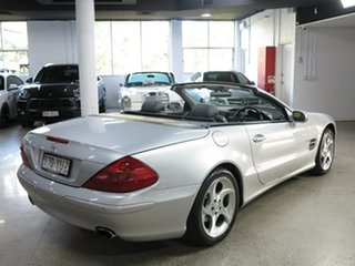 2002 Mercedes-Benz SL-Class R230 SL500 Silver 5 Speed Sports Automatic Roadster