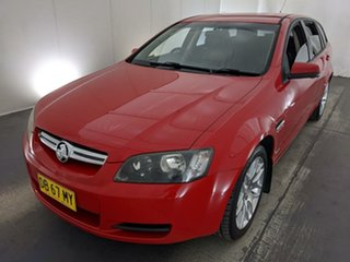 2009 Holden Commodore VE MY10 International Sportwagon Red 6 Speed Sports Automatic Wagon.