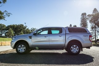 2017 Ford Ranger PX MkII XLT Double Cab Silver 6 Speed Sports Automatic Utility