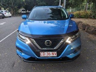 2018 Nissan Qashqai J11 Series 2 ST-L X-tronic Blue 1 Speed Constant Variable Wagon.
