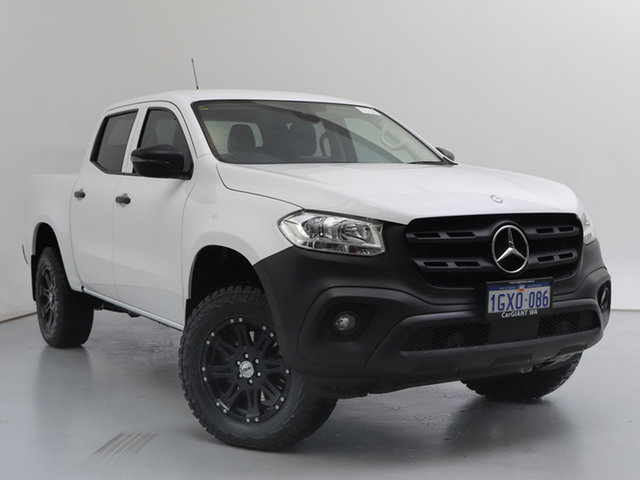 Used Mercedes-Benz X-Class 470 250d Pure (4Matic), 2019 Mercedes-Benz X-Class 470 250d Pure (4Matic) White 7 Speed Automatic Dual Cab Pick-up