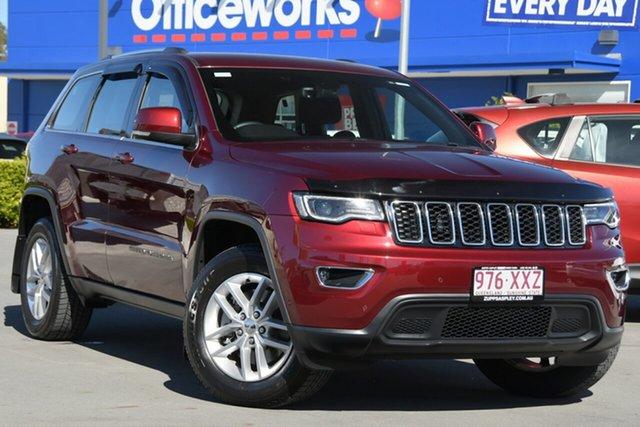 Used Jeep Grand Cherokee WK MY18 Laredo Aspley, 2018 Jeep Grand Cherokee WK MY18 Laredo Red 8 Speed Sports Automatic Wagon