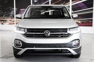 2021 Volkswagen T-Cross C1 MY21 85TSI DSG FWD Style Silver 7 Speed Sports Automatic Dual Clutch.