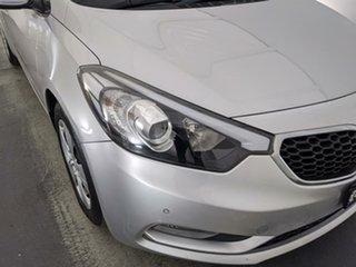 2013 Kia Cerato YD MY13 S Silver 6 Speed Manual Sedan.