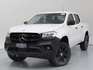 2019 Mercedes-Benz X-Class 470 250d Pure (4Matic) White 7 Speed Automatic Dual Cab Pick-up.