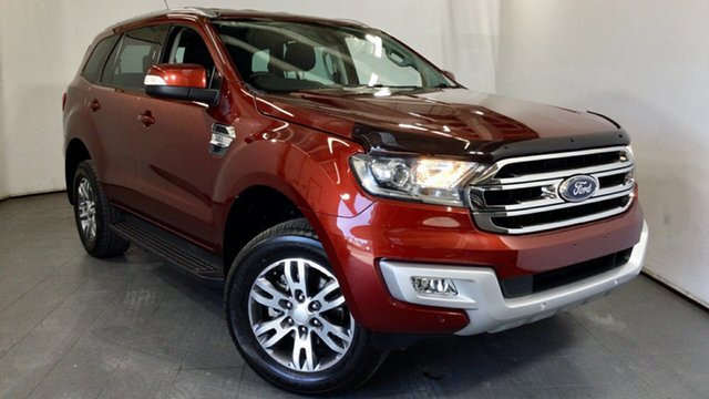Used Ford Everest UA Trend Elizabeth, 2016 Ford Everest UA Trend Red 6 Speed Sports Automatic SUV