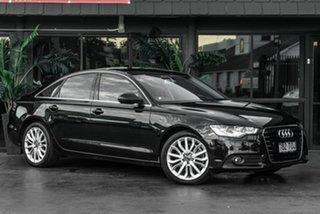 2013 Audi A6 4G MY13 Multitronic Black 1 Speed Constant Variable Sedan.