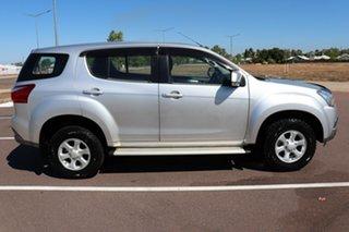 2017 Isuzu MU-X MY17 LS-M Rev-Tronic 4x2 Silver 6 Speed 6 SP AUTO SEQUENTIAL Wagon.